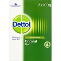 Dettol Soap Original Solid 100 g Pack of 2
