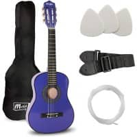 PDT Music Alley Junior Class Guitar Blue