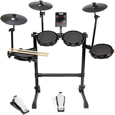 PDT Rockjam Mesh Electronic Drum Kit
