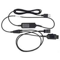 JPL Headset Cable BL-11 USB(+P) Wired Black