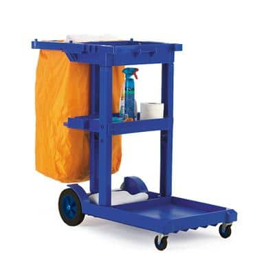 GPC Trolley HI308Y Blue 100L 500mm x 972mm x 1140mm