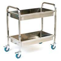 GPC Trolley SI822Y Stainless Steel 100L 443mm x 895mm x 837mm