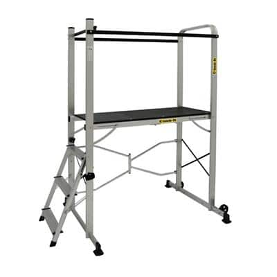 CLIMB-IT Ladder 3 Steps Aluminium Capacity: 150 kg