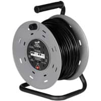 SMJ Heavy Duty Extension Cable Reel SMJ001 50 M 4 Sockets