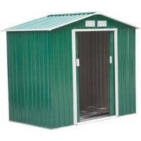 OutSunny Garden Shed Storage Outdoors Water proof Green 1270 mm x 2130 mm x 1850 mm