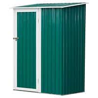 OutSunny Garden Shed Storage Outdoors Water proof Green 890 mm x 1430 mm x 1860 mm
