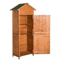OutSunny Garden Storage Shed Outdoors Water proof Wood 1900 mm x 790 mm x 490 mm