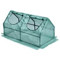 OutSunny Green House Outdoors Water proof Teal 600 mm x 1200 mm x 600 mm