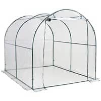 OutSunny Greenhouse Outdoors Water proof White 2000 mm x 2500 mm x 2000 mm