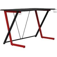 Alphason Gaming Desk Phantom Black 760 x 1350 mm