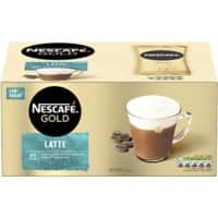 Nescafé GOLD Instant Coffee Latte Pack of 40