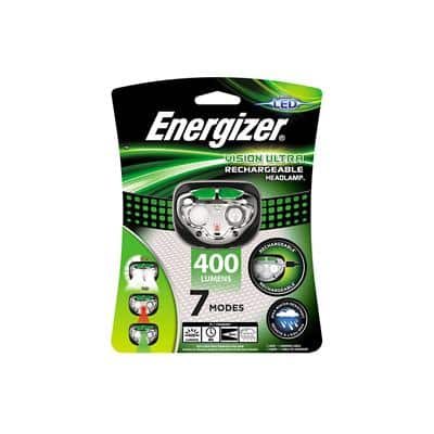 Energizer LED Head Torch Vision USB Rechargeable 400 Lumens
