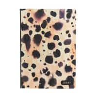 GO STATIONERY Diary Cheetah Classic A5 1 Week on 2 pages 2021 Assorted