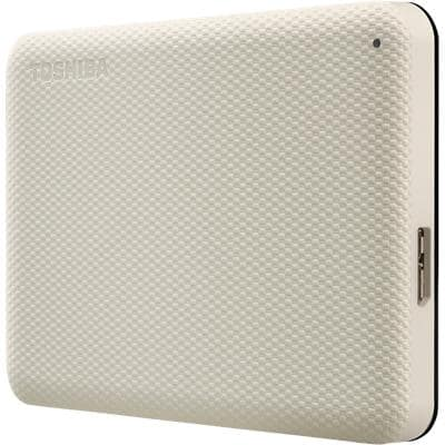 Toshiba 1 TB External Portable Hard Drive Canvio Advance Beige
