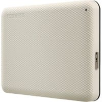Toshiba 2 TB External Portable Hard Drive Canvio Advance Beige