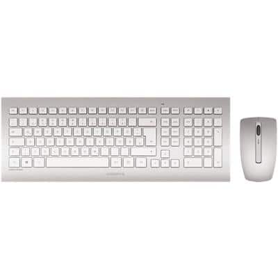 CHERRY DW 8000 Keyboard and Mouse Set RF Wireless QWERTY UK English White