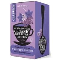 Clipper Wild Berry Organic Infusion Tea 25 Pieces