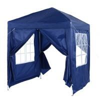 OutSunny Pop Up Gazebo Outdoors Water proof Blue 2000 mm x 2000 mm x 2450 mm