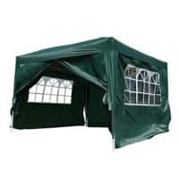 OutSunny Pop Up Gazebo Outdoors Water proof Green 3000 mm x 3000 mm
