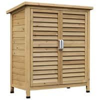 OutSunny Wooden Garden Storage Outdoors Water proof Wood 465 mm x 870 mm x 965 mm