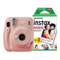 Fujifilm Instant Camera Instax Mini 11 Pink Including 20 Shots
