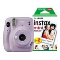 Fujifilm Instant Camera Instax Mini 11 Purple Including 20 Shots