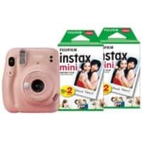 Fujifilm Instant Camera Instax Mini 11 Pink Including 40 Shots