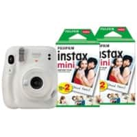 Fujifilm Instant Camera Instax Mini 11 White Including 40 Shots