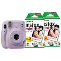 Fujifilm Instant Camera Instax Mini 11 Purple Including 40 Shots