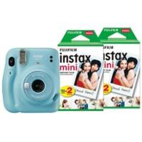 Fujifilm Instant Camera Instax Mini 11 Blue Including 40 Shots