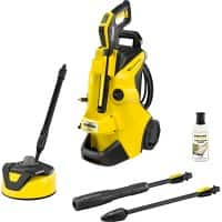 Kärcher Corded Pressure Washer K4 Power Control Home Yellow, Black