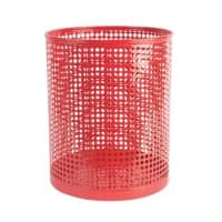 Foray Bin Mesh Red 13L Metal 24 x 29 cm