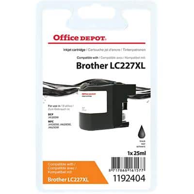 Office Depot Compatible Brother LC227XL Ink Cartridge Black