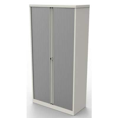 Bisley Tambour Cupboard Essentials White 1,000 x 470 x 1,985 mm