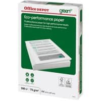 Office Depot Eco Performance Copy Paper A4 75gsm White 500 Sheets