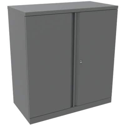 Bisley Regular Door Cupboard Essentials Grey 914 x 470 x 1,015 mm