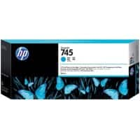 HP 745 Original Ink Cartridge F9K03A Cyan