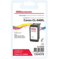 Office Depot Compatible Canon CL-546XL Ink Cartridge Colour