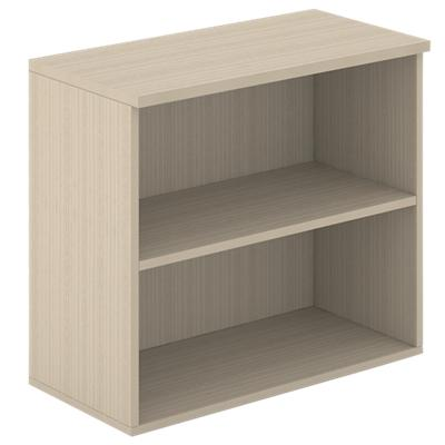 Bookcase with 2 Shelves 800 x 400 x 720 mm Oak