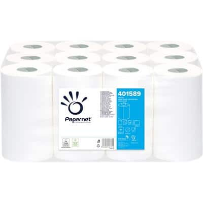 Papernet Hand Towels Centrefeed 2 Ply Paper 12 Rolls White