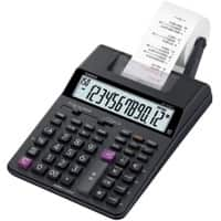 Casio Printing Calculator with Roll HR-150RC 12 Digit Display Black