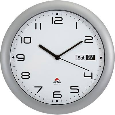 Alba Wall Clock Horday 30.5 x 5.5 cm Grey, White