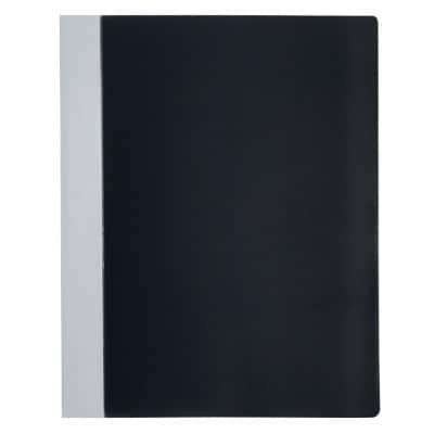 Office Depot Display Book A4 Black Polypropylene 24.5 x 1.5 x 31 cm