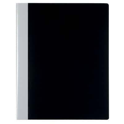 Office Depot Display Book A4 Black Polypropylene 24.5 x 2.5 x 31 cm