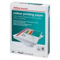 Office Depot Printer Paper A4 160gsm White 250 Sheets