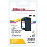 Office Depot Compatible HP 23 Ink Cartridge C1823D 3 Colours