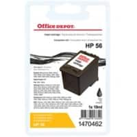 Office Depot Compatible HP 56 Ink Cartridge C6656A Black
