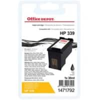 Office Depot Compatible HP 339 Ink Cartridge C8767EE Black