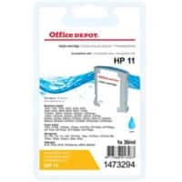 Office Depot Compatible HP 11 Ink Cartridge C4836A Cyan