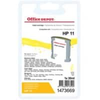 Office Depot Compatible HP 11 Ink Cartridge C4838A Yellow